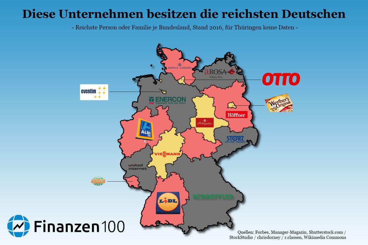 Deutschland Reichste