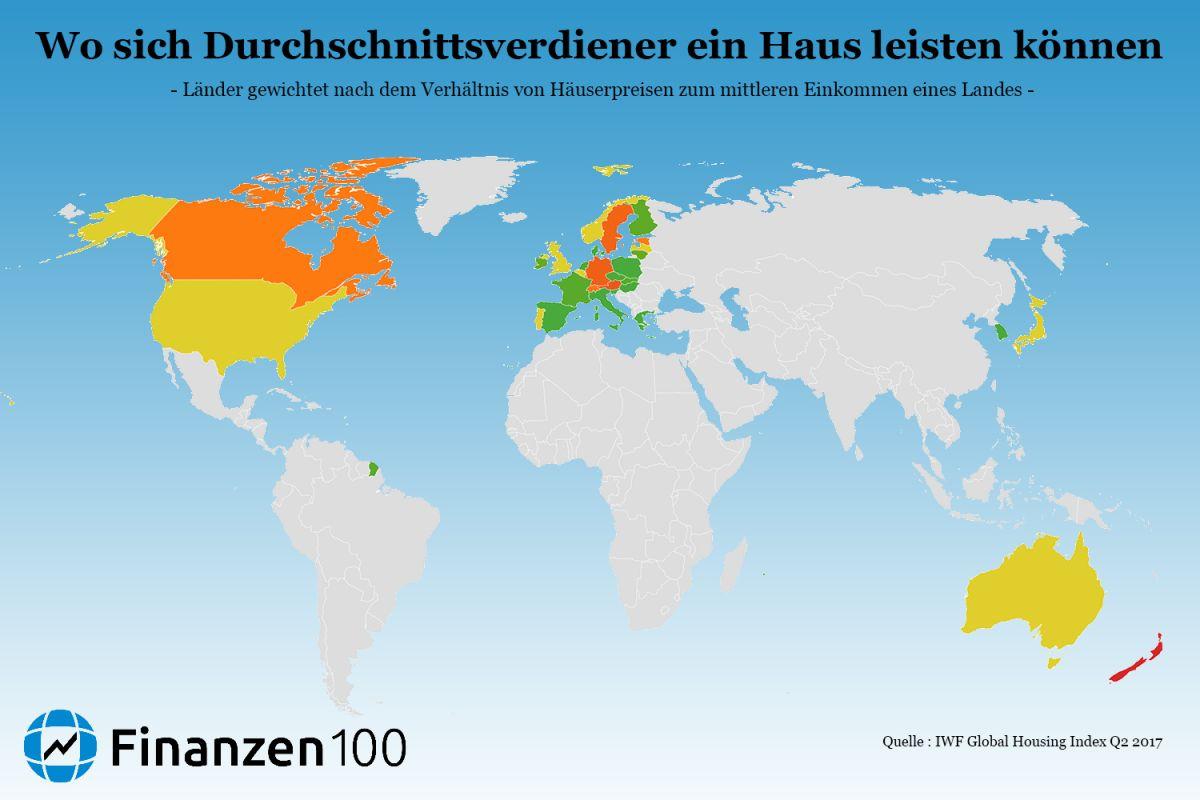 Brief Von Neuseeland Nach Deutschland Kosten : In ländern kosten immobilien mehr als deutschland